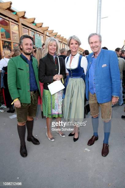 Alexander Erbgraf Fugger-Babenhausen Charlotte von Bismarck and her partner Reinhard von der Becke, CEO Lux International and Forbes Lux Group and...