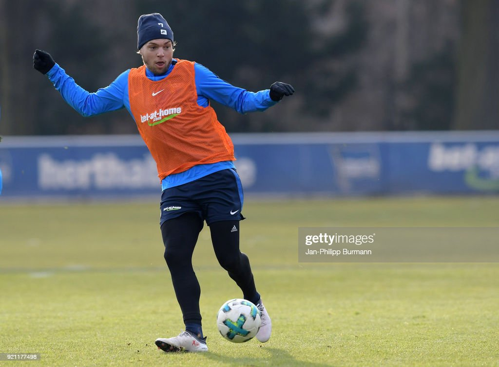 Hertha BSC training session