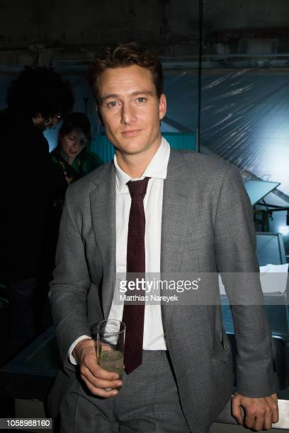 Alexander Fehling attend the premiere of the Amazon Original Series 'BEAT' at Kraftwerk Mitte on November 7 2018 in Berlin Germany