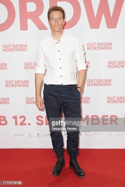 Alexander Fehling attends the Gut gegen Nordwind Family Friends preview at Kulturbrauerei on September 04 2019 in Berlin Germany