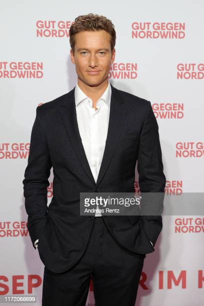 Alexander Fehling attends the world premiere of the movie Gut gegen Nordwind at Cinedom on September 03 2019 in Cologne Germany