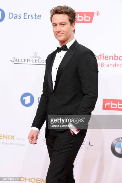 Alexander Fehling during the Lola German Film Award red carpet at Messe Berlin on April 27 2018 in Berlin Germany