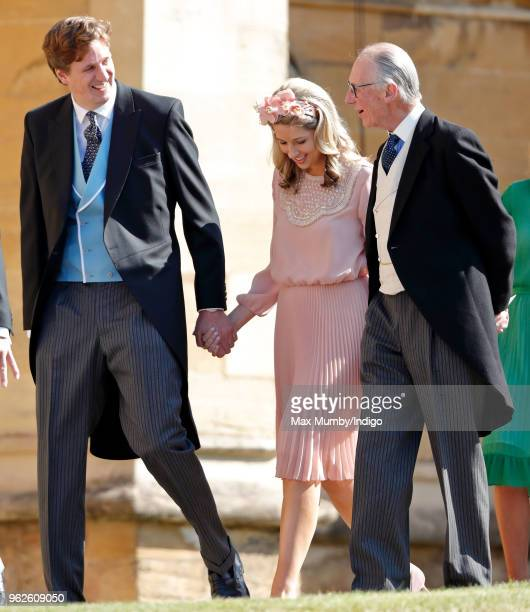 Alexander Fellowes Alexandra Fellowes and Lord Robert Fellowes attend the wedding of Prince Harry to Ms Meghan Markle at St George's Chapel Windsor...
