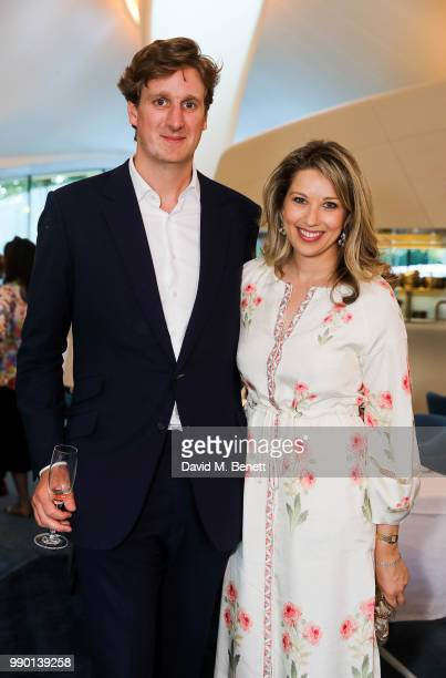 Alexander Fellowes and Fin Fellowes attend a dinner to celebrate the launch of St Mary's Children's Fund at Chucs Serpentine The Serpentine Sackler...