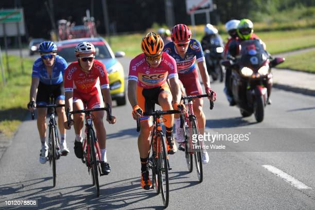 Alexander Foliforov of Russia and Team GazpromRusvelo / Mathias Le Turnier of France and Team Cofidis Solutions Credits / Michal Paluta of Poland and...