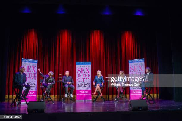 Alexander Fraser, Producing Director of Bucks County Playhouse, Robyn Goodman, Executive Producer of Bucks County Playhouse, Marc Johnston, Producer...