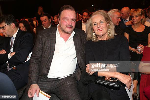 Alexander Fuerst zu SchaumburgLippe and Alexandra Oetker during the Tribute To Bambi at Station on October 6 2016 in Berlin Germany