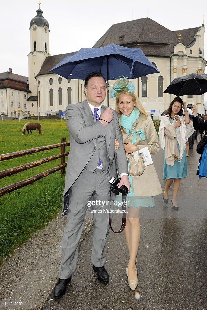 Princess Felipa Von Bayern Marries Christian Dienst At Wieskirche