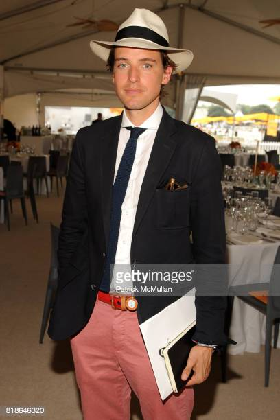 Alexander Gilkes attends 2010 VEUVE CLICQUOT Polo Classic at Governors Island on June 27 2010 in New York City