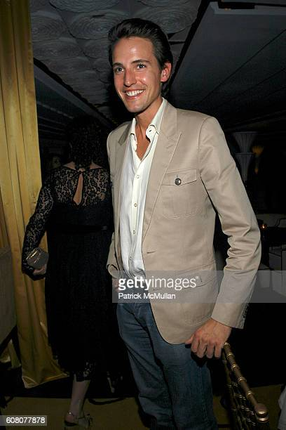 Alexander Gilkes attends JIMMY CHOO Dinner for The Whitney Contemporaries at ART BASIL at David Bouley Evolution on December 6 2006 in Miami Beach FL