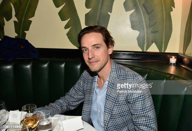 Alexander Gilkes attends The Andy Warhol Museum's Annual NYC Dinner at Indochine on November 12 2018 in New York New York