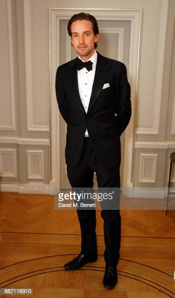 Alexander Gilkes attends the mothers2mothers Winter Fundraiser hosted by Salma Hayek Pinault and FrancoisHenri Pinault The dinner is in support of...