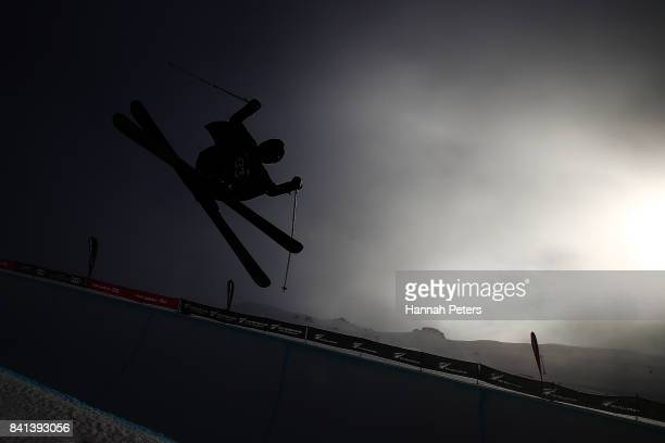 Alexander GlavatskyYeadon of Great Britain competes during the Winter Games NZ FIS Men's Freestyle Skiing World Cup Halfpipe Finals at Cardrona...
