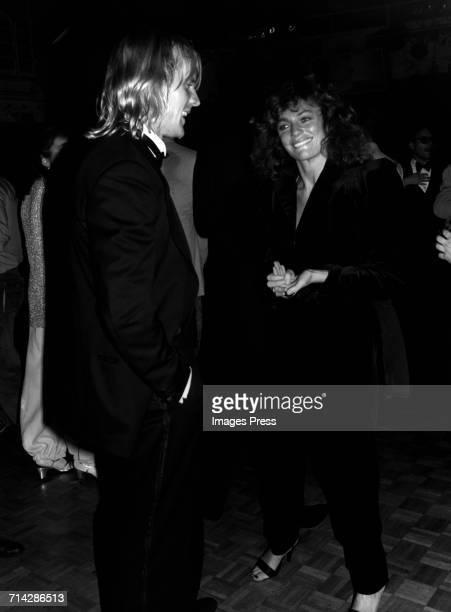 Alexander Godunov and Jacqueline Bisset at Studio 54 celebrating the release of her film 'Rich and Famous' circa 1981 in New York City