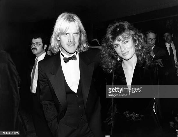 Alexander Godunov and Jacqueline Bisset circa 1981 in New York City