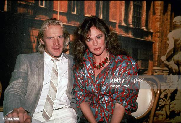 Alexander Godunov and Jacqueline Bisset circa 1984 in New York City.