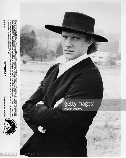 Alexander Godunov poses in a scene from the Paramount Pictures movie Witness circa 1985