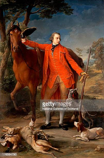 Alexander Gordon 4th Duke of Gordon by Pompeo Girolamo Batoni 1764 Oil on canvas Purchased by Private Treaty with the aid of the National Heritage...