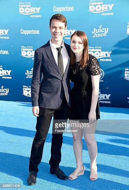 Alexander Gould and guest attend the world premiere of DisneyPixar's 'Finding Dory' at the El Capitan Theatre on June 8 2016 in Hollywood California