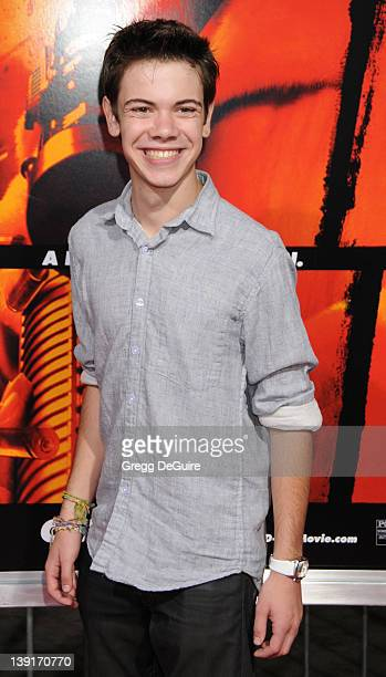 Alexander Gould arrives at the Los Angeles Premiere of 'Red' at the Grauman's Chinese Theatre on October 11 2010 in Hollywood CA