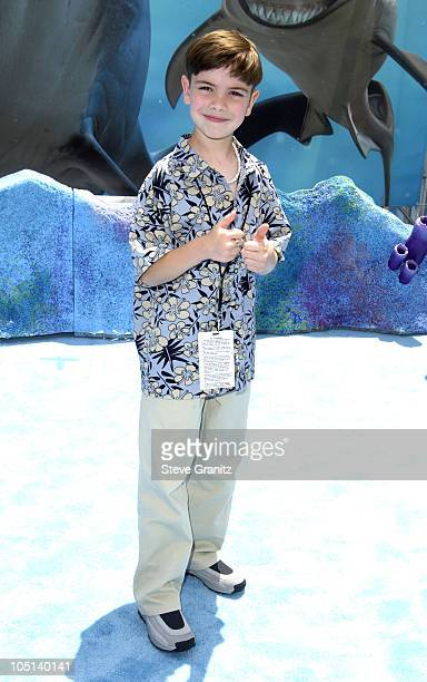 Alexander Gould during 'Finding Nemo' Los Angeles Premiere at El Capitan Theater in Los Angeles California United States
