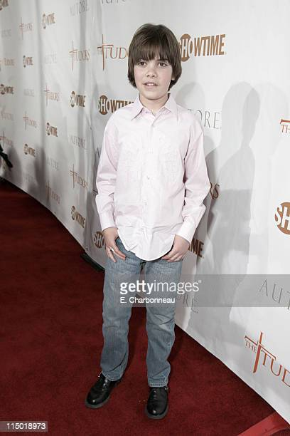 Alexander Gould during Showtime's Premiere of the new dramatic series 'The Tudors' at Egyptian Theater in Los Angeles California United States