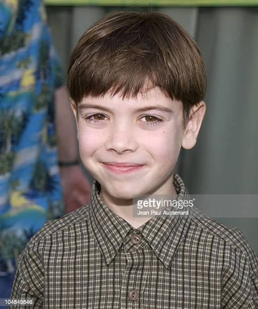 Alexander Gould during 'The Jungle Book 2' Premiere at The El Capitan Theater in Hollywood California United States