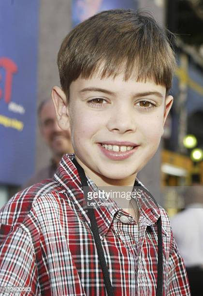 Alexander Gould during World Premiere of 'Teacher's Pet' Red Carpet at El Capitan Theatre in Hollywood California United States
