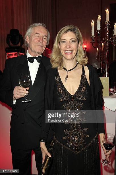 Alexander Graf Von Hardenberg And Christiane Zu Salm In The Fashion Gala 'Russian Spring in Berlin' In The Embassy Of The Russian Federation in Berlin