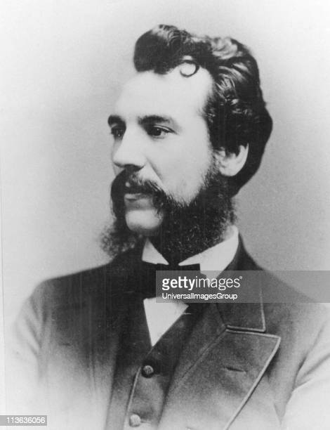 Alexander Graham Bell Scottishborn American inventor patented telephone 1876 Photograph of Bell as a young man