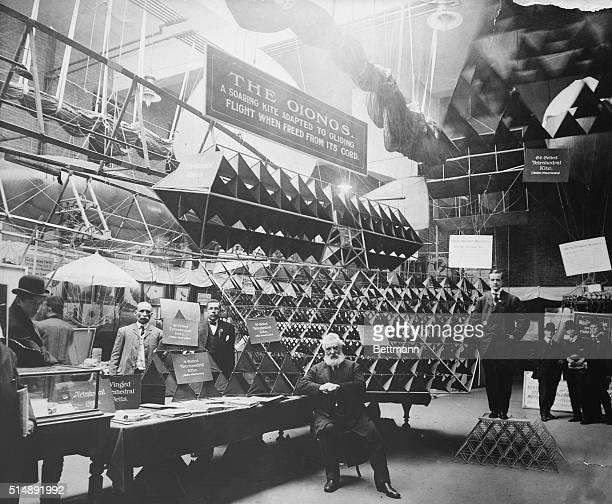 Alexander Graham Bell the Scotsman who invented the telephone experimented with giant mancarrying kites during the first decade of the 20th Century