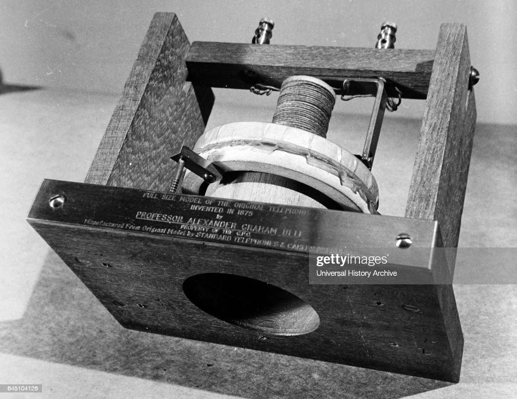 Alexander Graham Bell. : News Photo