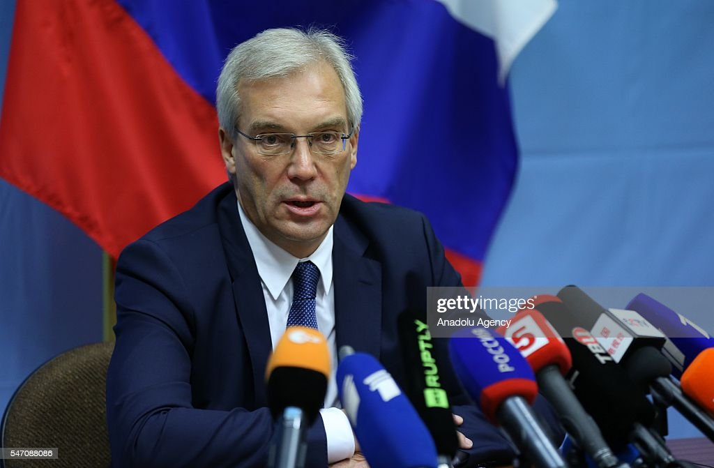 NATO-Russia Council in Brussels : News Photo