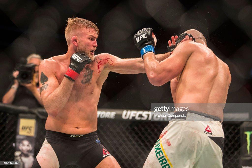 UFC Fight Night: Gustafsson v Teixeira : News Photo