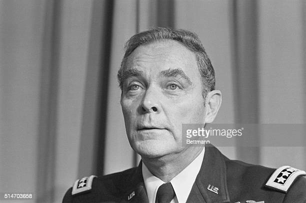 Alexander Haig as he took command at Supreme Headquarters Allied Powers Europe or SHAPE the NATO headquarters in Belgium