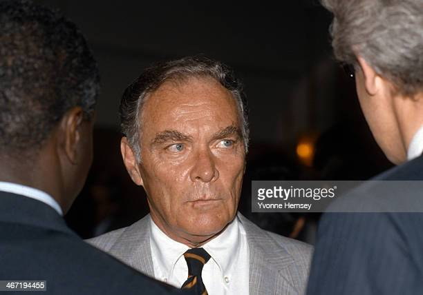 Alexander Haig is photographed September 21 1981 at the United Nations in New York City