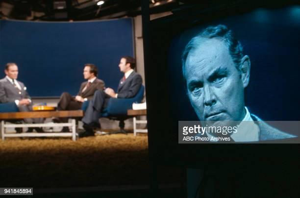 Alexander Haig Tom Jarriel Sam Donaldson Alexander Haig on ABC's 'Issues and Answers' program