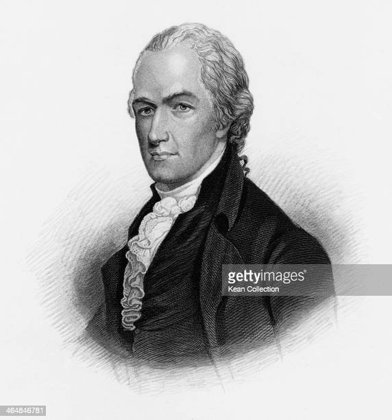 Alexander Hamilton a Founding Father of the United States circa 1790 Engraved by H B Hall after Robertson
