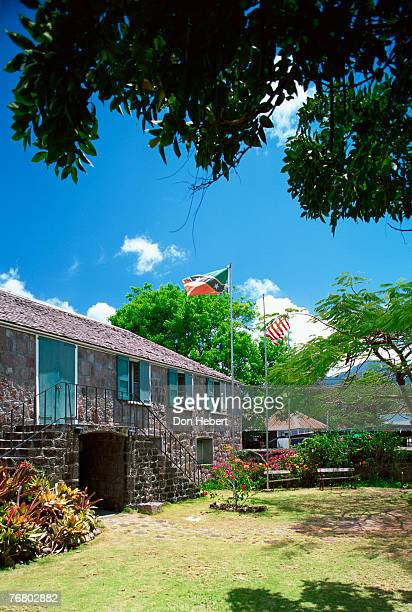 alexander hamilton birthplace, nevis - alexander hamilton stock photos and pictures