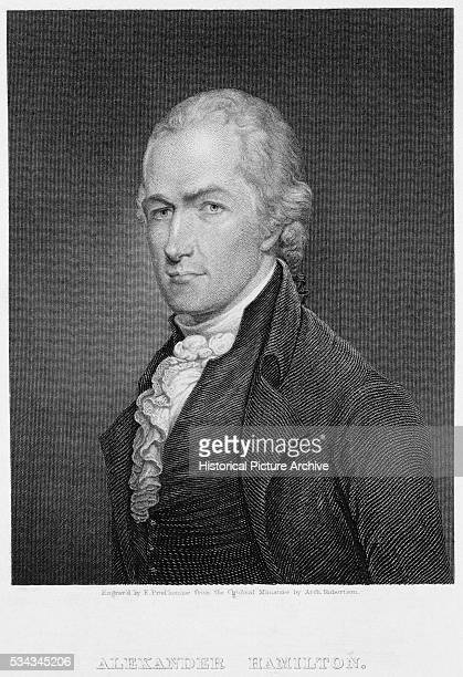 Alexander Hamilton by John Francis Eugene Prud'homme