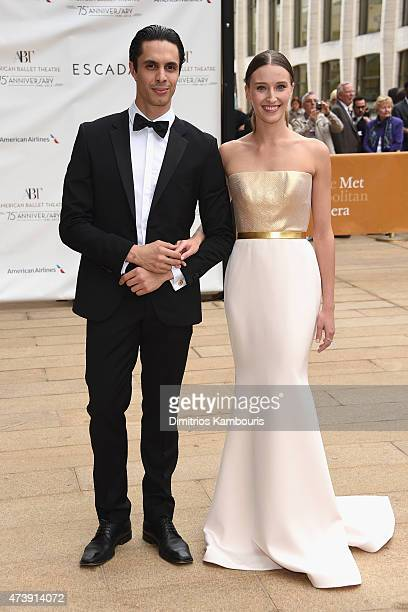 Alexander Hammoudi and Devon Teuscher attend the American Ballet Theatre's 75th Anniversary Diamond Jubilee Spring Gala at The Metropolitan Opera...
