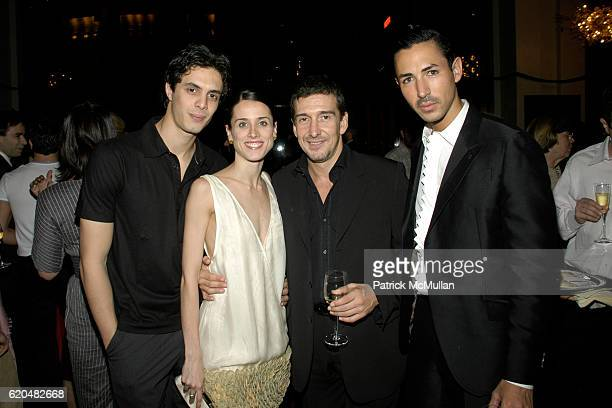 Alexander Hammoudi Maria Riccetto Julio Bocca and Christian Cota attend AMERICAN BALLET THEATRE Celebrates Noche Latina at Metropolitan Opera House...