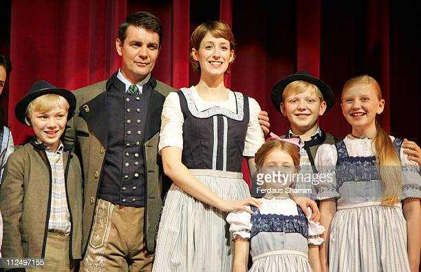 Alexander Hanson as Captain Von Trapp and Connie Fisher as Maria and Cast