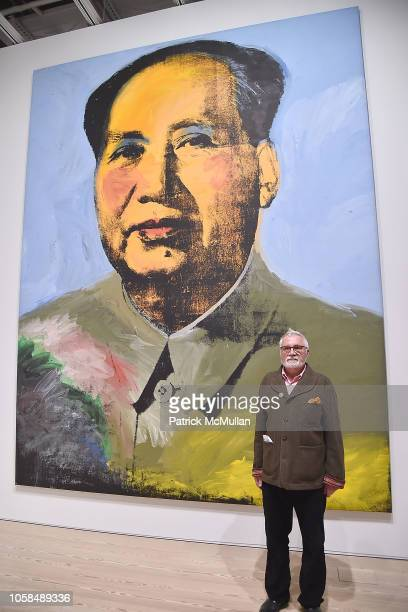 Alexander Heinrici attends the Opening Reception For Andy Warhol From A To B And Back Again Hosted By Calvin Klein at The Whitney Museum of American...
