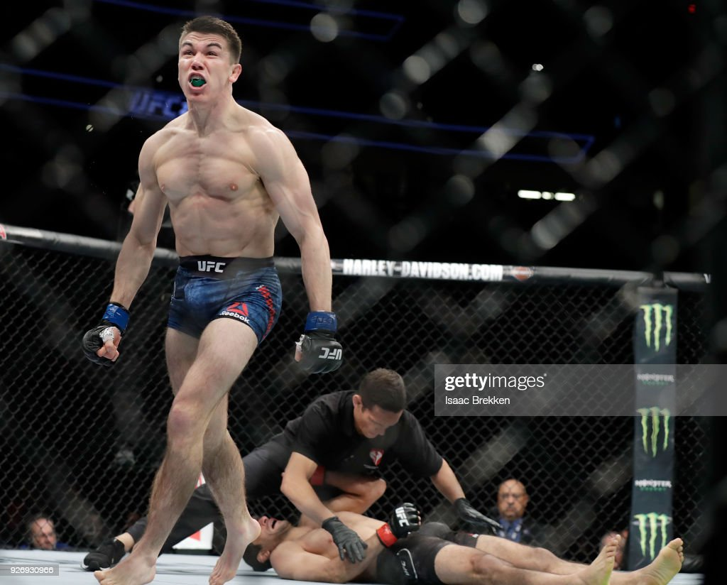 UFC 222: Dariush v Hernandez : News Photo