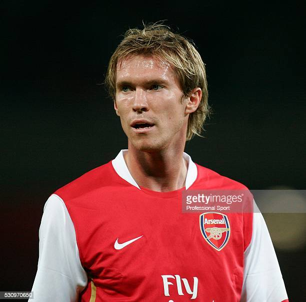 Alexander Hleb of Arsenal FC in action against Dinamo Zagreb at Emirates Stadium in London on 23rd August 2006 Arsenal won 21