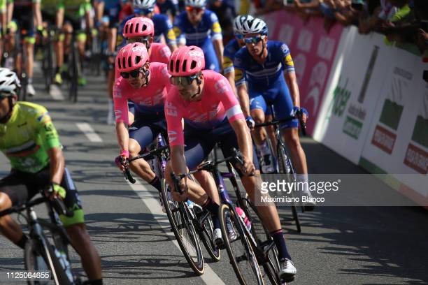 Alexander Howes of The United States and EF Education First Pro Cycling Team / Peloton / during the 2nd Tour of Colombia 2019 Stage 4 a 1444km race...