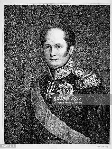 Alexander I Czar of Russia 18011825 Portrait Engraving 1814