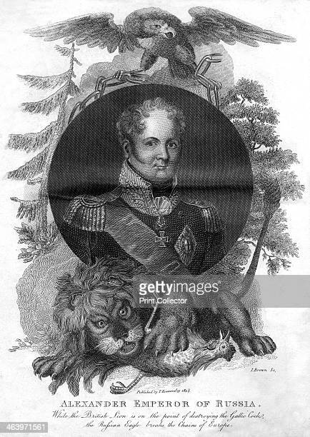 Alexander I emperor of Russia 1816 Alexander I was emperor of Russia from 1801 to 1825 He was also ruler of Poland from 1815 to 1825 and the first...