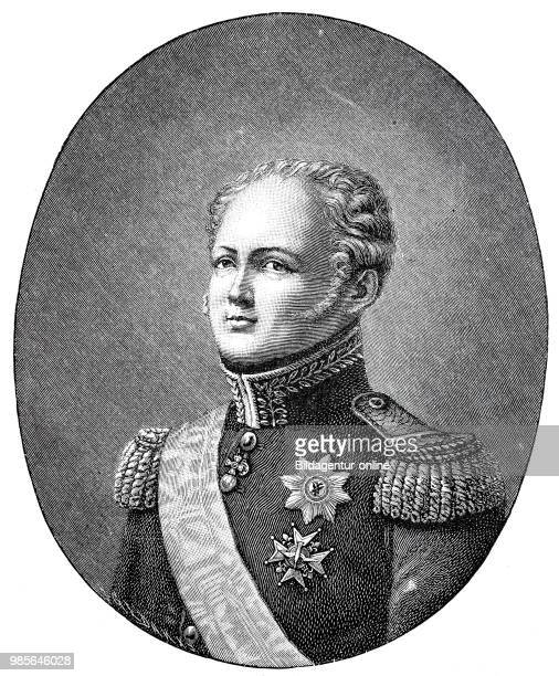 Alexander I Pavlovich Romanov December 23 1777 December 1 was Emperor of Russia from 18011825 King of Poland from 18151825 and first Russian Grand...